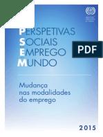 OIT - Perspectivas Sociais e de Emprego No Mundo