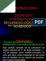 Clase 03 y 04 Zocalos Contrazocalos - Construccion II