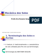 Terminologia e Classificacao Dos Solos