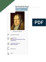 Biografia Jorge Guillermo Federico Hegel