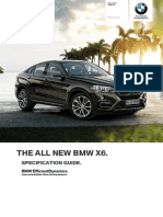 2015 BMW X6 X16 Specifications (Australia)