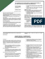 Bases y Programa