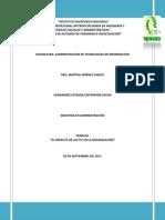 El Impacto de Las TIC en La Organización. Hernández Estrada