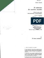 Girard-El Misterio de Nuestro Mundo 321-363