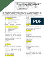 Evaluaciones bimestrales