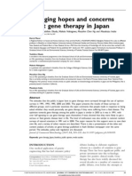 Changing Hopes and Concerns About Gene Therapy