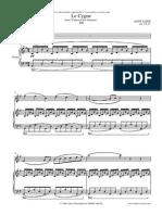 Le Cygne de Saint Saint Saens - Flute and Piano