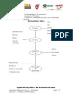 Diccionario de Datos & FORMATO CASO 6