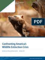 Confronting America's Wildlife Extinction Crisis