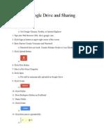 Task Analysis Google Drive