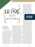 Aguinis,Marcos,Letras.Letrillas.Letrones,-Revista Letras libres