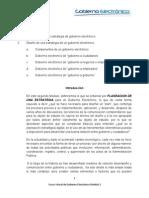 Módulo 2-Estrategias para un e-gobierno