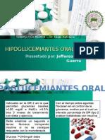 HIPOGLUCEMIANTES ORALES