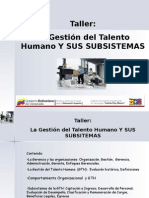 27463068 TALLER Gestion de Talento Humano