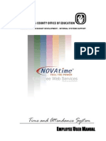 novatime employee training manual  1