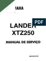 Manual de Serviço Lander XTZ 250