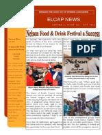 ELCAP E-Newsletter Issue 32 - Oct 2015