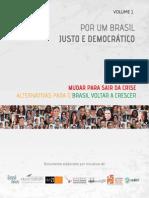 Por um Brasil justo e democrático v.1
