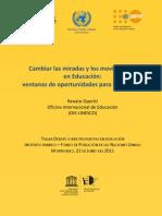 CambiarlasmiradasylosmovimientosenEducacionOpertti2011
