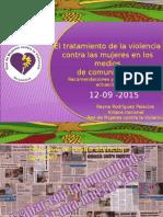 Medios y Violencia Contra Las Mujeres