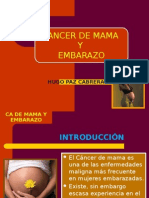 Cancer de Mama y Embarazo Expo