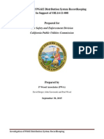Report on PG&E Record Keeping