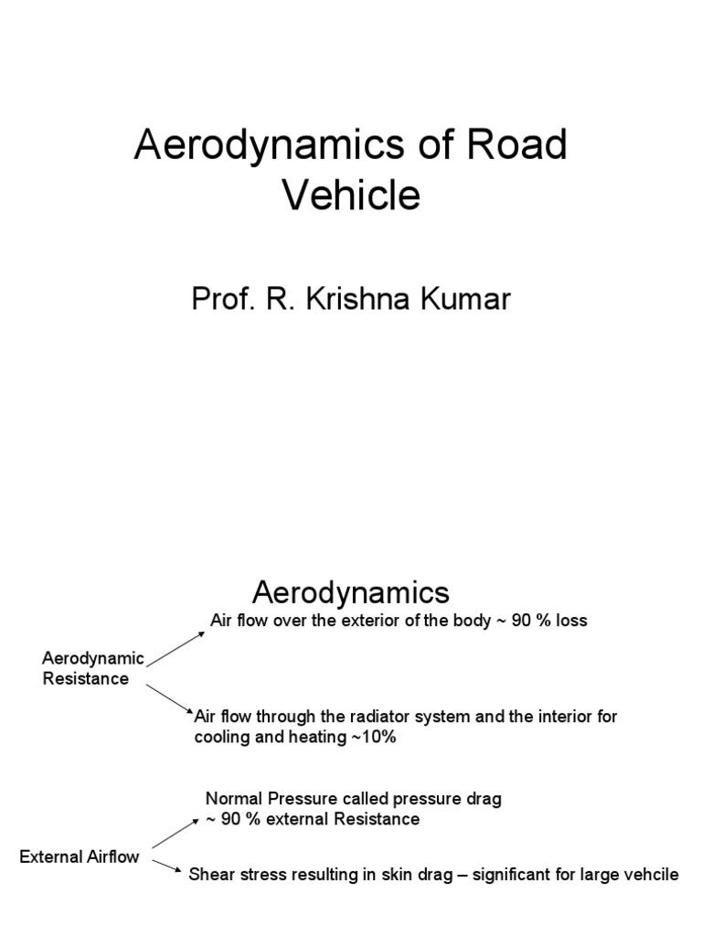 Aerodynamics Of Road Vehicles Hucho Pdf