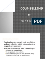 Counselling in Family Medicine