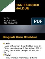 Pemikiran Ekonomi Ibnu Khaldun