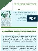 Generación de Energía Eléctrica en México