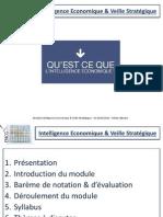 Intelligence Economique & Veille Stratégique - Cours 1