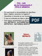 OC 3 Tipos e Gêneros