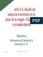Campo de Movimiento 3-D y en La Imagen
