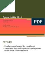 appendisitis ppt