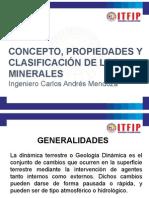 Concepto, Propiedades y Clasificación de Los Minerales