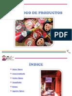 Catálogo de dulces y arreglos mexicanos