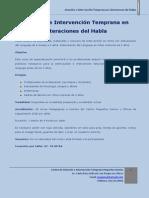 Curso de Especialización Estimulación Del Lenguaje 2016