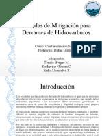 Medidas de Mitigación Para Derrames de Hidrocarburos