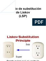 Prinsipio de substitucion de Liskov