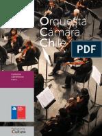 Orquesta de Cámara de Chile. (2014)
