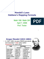 Mendels Laws and Mapping