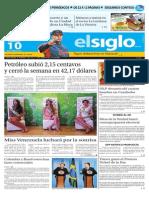 Edición Impresa El Siglo 10-10-2015
