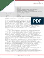 Reglamento Disposicion de Lodos de Riles