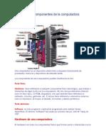 Estructuras y Componentes de La Computadora Para El Sabado
