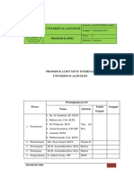 Prosedur Audit Mutu Internal