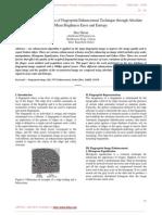 A Comparative Analysis of Fingerprint Enhancement Technique Through Absolute Mean Brightness Error and Entropy
