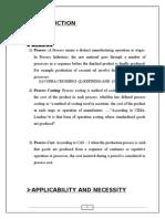 Project - Process Costing-mcom -1 (1)