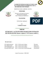 ETUDE DE L'ACTIVITE BIOLOGIQUE DES EXTRAITS.pdf