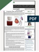 Pengobatan Gagal Jantung Kongestif | PENGOBATAN