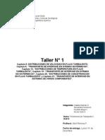 Fenomenos de Transporte II (2.2011) - Taller # 1 (1)